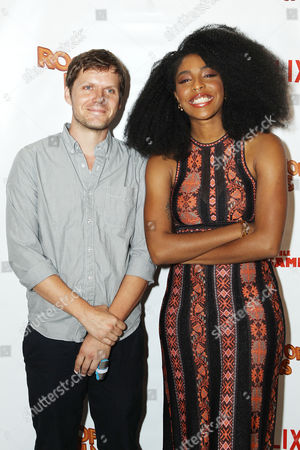 Stock Picture of James Strouse (Writer/Director), Jessica Williams