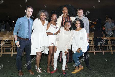 Will Stephen, Susan Heyward, Jessica Williams, Taliyah Whitaker, James Strouse (Writer/Director), Zabryna Guevara