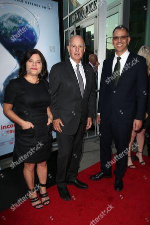 Bonni Cohen, Governor Jerry Brown, Jon Shenk