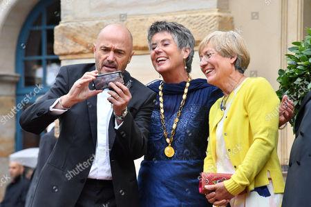 Christian Neureuther, Rosi Mittermeier, Brigitte Merk-Erbe