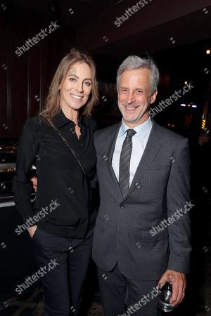 Stock Image of Director/Producer Kathryn Bigelow, Editor William Goldenberg