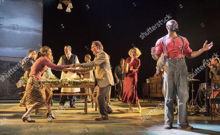 Shirley Henderson as Elizabeth, Ron Cook as Dr Walker, Arinze Kene as Joe