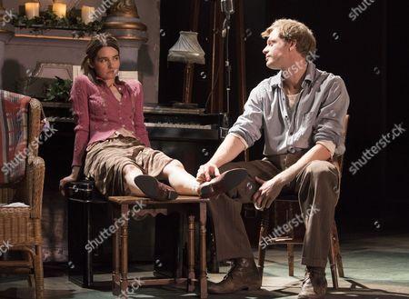 Stock Image of Shirley Henderson as Elizabeth, Sam Reid as Gene Laine