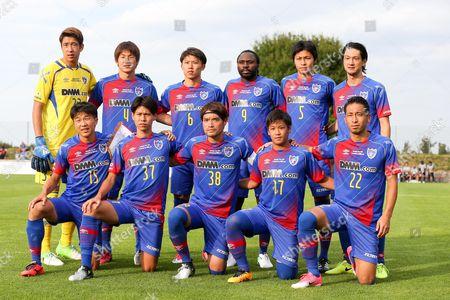 teamphoto: , l-r: hintere Reihe, Akihiro Hayashi #33 (FC Tokyo), Kazunori Yoshimoto #4 (FC Tokyo), Kosuke Ota #6 (FC Tokyo), Peter Utaka #9 (FC Tokyo), Yuichi Maruyama #5 (FC Tokyo), Yojiro Takahagi #8 (FC Tokyo), l-r: vordere Reihe, Kensuke Nagai #15 (FC Tokyo), Kento Hashimoto #37 (FC Tokyo), Keigo Higashi #38 (FC Tokyo), Hiroki Kawano #17 (FC Tokyo), Yuhei Tokunaga #22 (FC Tokyo)