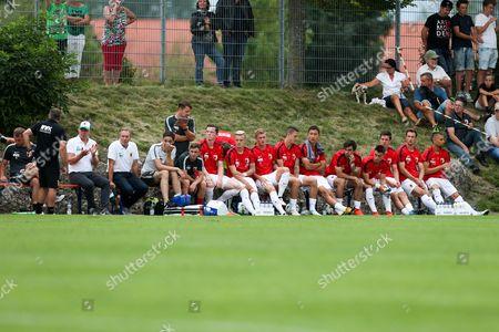 Editorial picture of FC Augsburg v FC Tokyo, Pre-Season Friendly football match, Buchloe, Germany - 18 Jul 2017