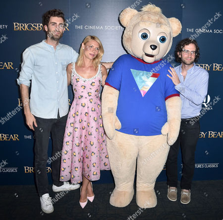 Stock Image of Dave McCary, Claire Danes, Brigsby Bear, Kyle Mooney, Tom Bernard