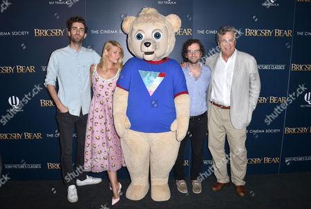 Stock Photo of Dave McCary, Claire Danes, Brigsby Bear, Kyle Mooney, Tom Bernard