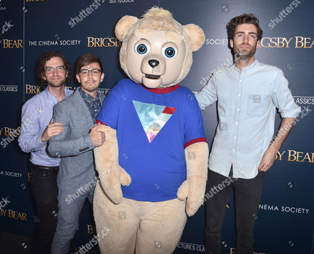 Editorial image of 'Brigsby Bear' film premiere, Arrivals, New York, USA - 26 Jul 2017
