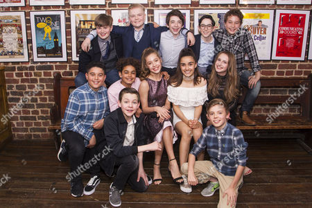 Editorial photo of 'The Secret Diary of Adrian Mole Aged 13 3/4' party, Press Night, London, UK - 26 Jul 2017