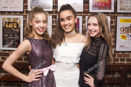 Georgia Pemberton (Pandora), Asha Banks (Pandora) and Lara Wollington (Pandora)