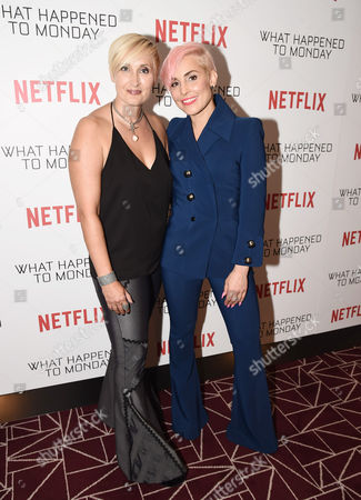 Stock Picture of Kerry Williamson, Writer and Noomi Rapace