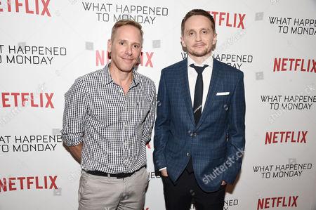 Stock Photo of Matt Brodlie and Tommy Wirkola, Director