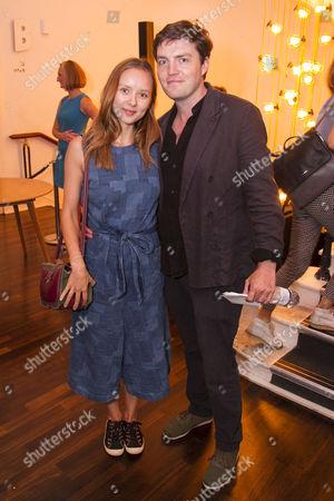 Stock Photo of Alexandra Dowling and Tom Burke