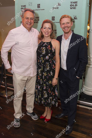 Stock Picture of Stanley Townsend (Mr Burke), Kirsty Malpass (Ensemble) and Michael Shaeffer (Reverend Marlowe)