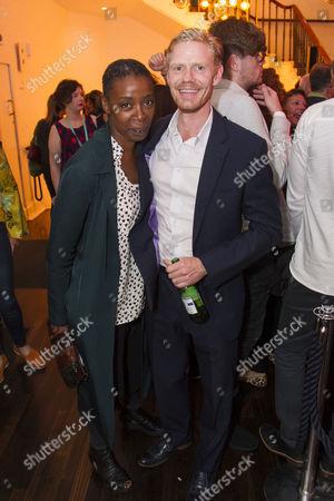 Stock Photo of Noma Dumezweni and Michael Shaeffer (Reverend Marlowe)