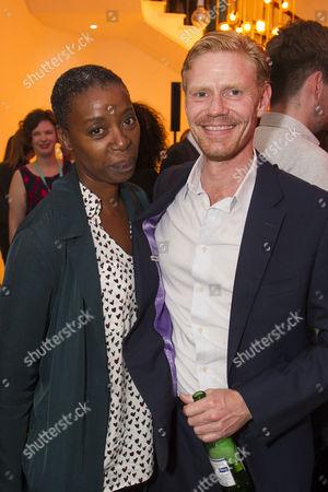 Stock Picture of Noma Dumezweni and Michael Shaeffer (Reverend Marlowe)