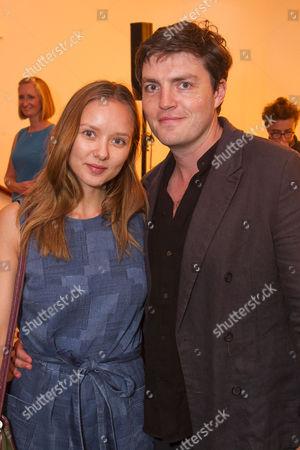 Alexandra Dowling and Tom Burke