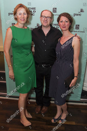 Kate Varah (Executive Director), Conor McPherson (Author/Director) and Georgia Gatti (Creative Producer)