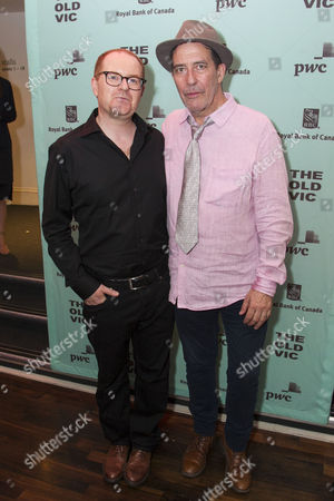 Conor McPherson (Author/Director) and Ciaran Hinds (Nick Laine)