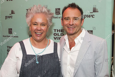 Stock Image of Emma Rice and Matthew Warchus (Artistic Director)
