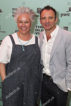 Stock Photo of Emma Rice and Matthew Warchus (Artistic Director)