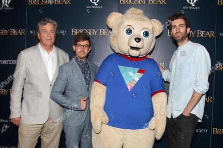 Tom Bernard, Jorma Taccone and Dave McCary (Director)