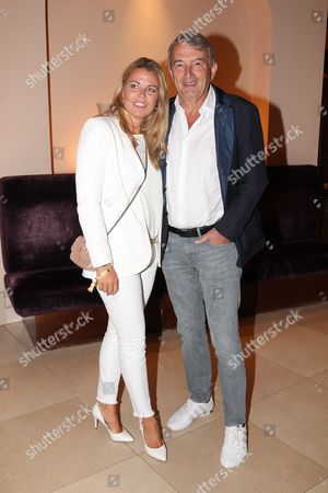 Stock Image of Wolfgang Niersbach with partner Marion Popp,