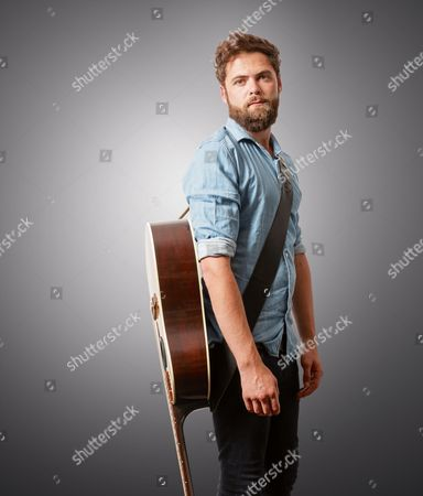 London United Kingdom - July 19: Portrait Of English Musician Mike Rosenberg Better Known By His Stage Name Passenger Photographed In London On July 19