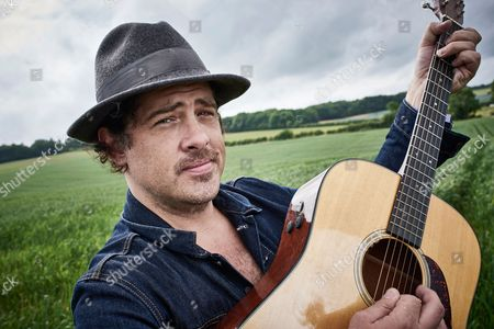 Cheltenham United Kingdom - July 9: Portrait Of American Musician Billy Mccarthy Guitarist And Vocalist With Indie Rock Group Augustines