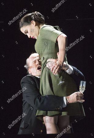 Richard Croft as Tito, Joelle Harvey as Servilia