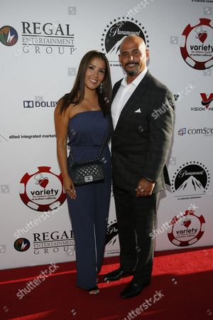 Carolina Alvarez and Michael Alvarez