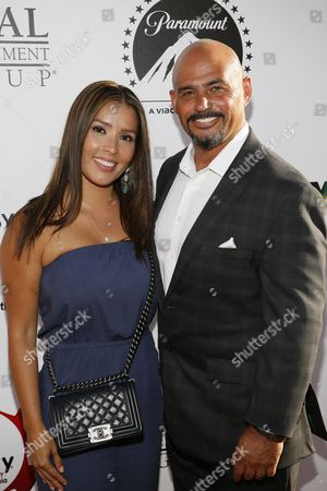Carolina Alvarez and Michael Alvarez