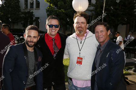David Laurence, Tom Malloy, Dale Wade Davis and Brian Krause