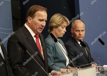 Stefan Löfven, Annika Strandhäll, Morgan Johansson