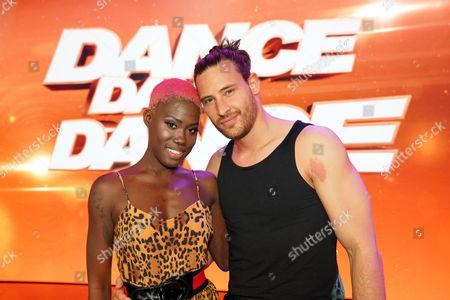 Stock Image of Aminata Sanogo and Marc Eggers