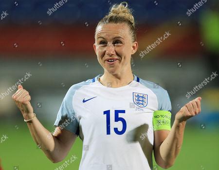Laura Bassett of England