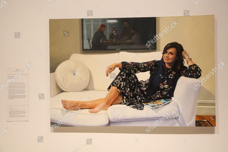 Peter Smeeth's portrait of Lisa Wilkinson, which won the 2017 Packing Room Prize.
