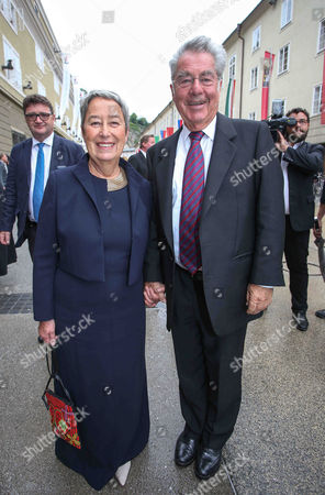 Heinz Fischer and wife Margit