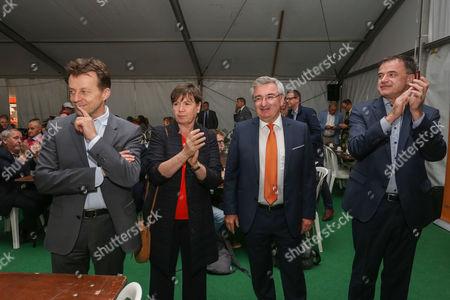 Rene Collin, Carlo Di Antonio, Alda Greoli, Benoit Lutgen