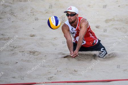 Editorial photo of Beach Volleyball World Championships in Vienna, Austria - 28 Jul 2017