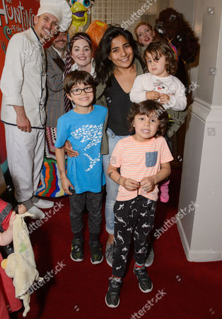 Rani Price with her children, Sonny, Bobby and Rudy