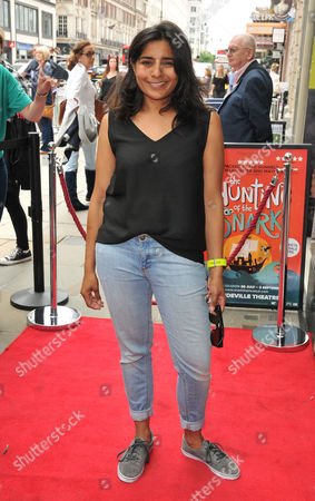 Editorial image of 'The Hunting of the Snark' play press night, Arrivals, London, UK - 28 Jul 2017