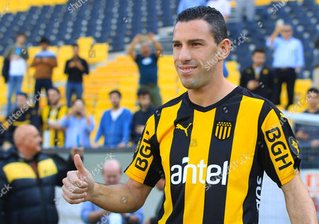 Editorial picture of Argentinean Maxi Rodriguez new player of Penarol soccer team, Montevideo, Uruguay - 28 Jul 2017