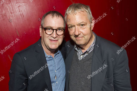 Stock Photo of Mark Hadfield (Brian/Jerry) and John Sessions