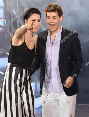 Stock Photo of Raphael Korine and Emma Willis