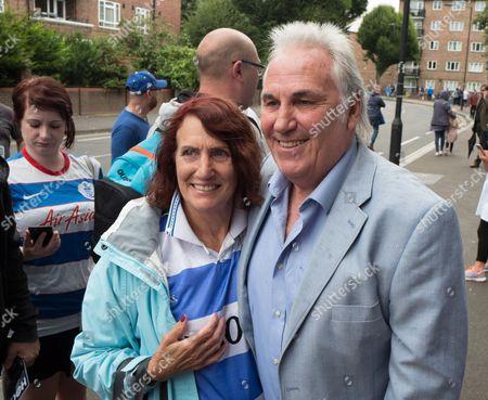 Former QPR Player Gerry Francis arrives