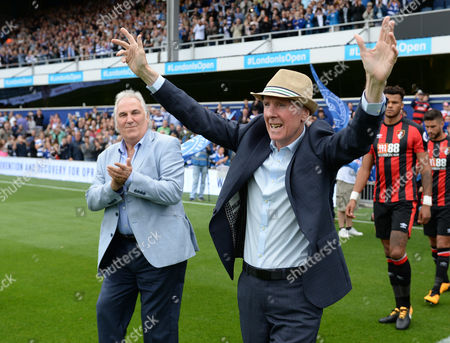 Stan Bowles, and Gerry Francis lead the teams out