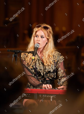 Stock Picture of Holly Macve at The Church,