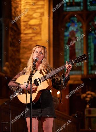 Stock Image of Holly Macve at The Church,