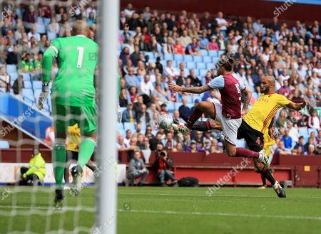 Editorial photo of Aston Villa v Watford, UK - 28 Jul 2017